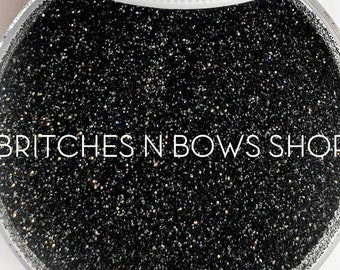 Coal Miner's Daughter    Exclusive Premium Polyester Glitter, 1oz by Weight • OPAQUE •    .008 cut