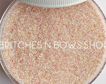 Get Naked (Fair/Ivory Skin Tone)    Premium Polyester Glitter, 1oz by Weight • TRANSPARENT •    .008 cut