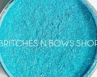 Little Blue Birdie    Premium *Cosmetic* Polyester Glitter, 1oz by Weight • OPAQUE • .008 cut
