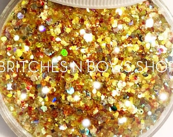 Be Our Guest    Premium Polyester Glitter, 1oz by Weight • TRANSPARENT •    mix up to .062 cut
