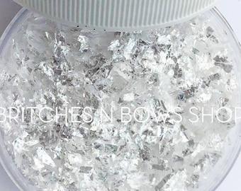 Walking on Broken Glass || Premium Polyester Glitter, 0.5oz by Weight • TRANSPARENT • || Random Cut