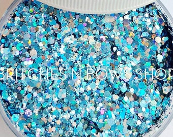 Baby Shark, Do Do Do Do Do Doo    Premium *Cosmetic* Polyester Glitter, 1oz by Weight • OPAQUE •    up to .062 cut