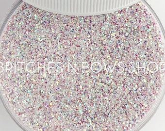Magic Wand    Exclusive Premium Polyester Glitter, 1oz by Weight • TRANSPARENT •    up to .015 cut • TGB June Release, Limited Amount