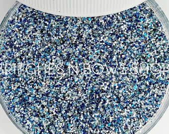 Love at Frost Sight    Exclusive Premium Polyester Glitter, 1oz by Weight • Semi-OPAQUE •    up to .015 cut