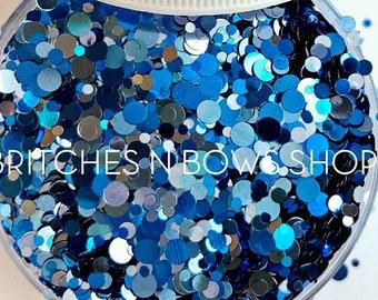 Under the Sea || Exclusive Confetti Dot Glitter Mix, 1oz Jar • OPAQUE •