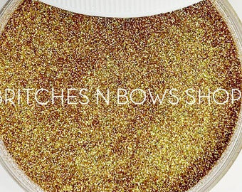 Goldstone • Birthstone || Polyester Glitter, 1oz by Weight • OPAQUE • || .004 cut