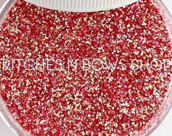 Lei it On Me    Exclusive Premium Polyester Glitter Blend, 1oz by Weight • Semi-OPAQUE •    up to .015 cut
