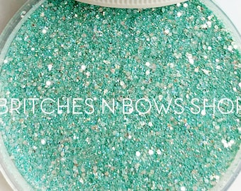 A Touch of Tiffany    Exclusive Premium Polyester Glitter, 1oz by Weight • TRANSPARENT •    up to .015 cut