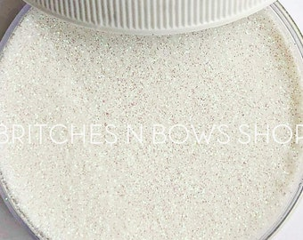 Pearl • June Birthstone  || Polyester Glitter, 1oz by Weight • TRANSPARENT • || .004 cut