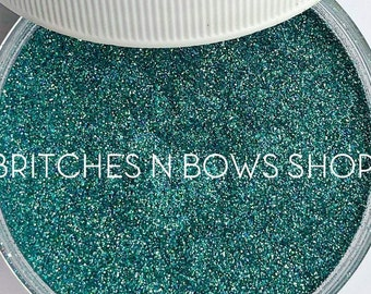 Aquamarine • March Birthstone  || Exclusive Polyester Glitter, 1oz by Weight • OPAQUE • || .004 cut