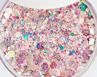 Cheerleader || Exclusive Premium Polyester Glitter, 1oz by Weight • TRANSPARENT • || up to .125 cut