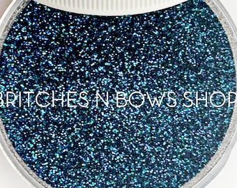 Be More Pacific    Color Shift Premium *Cosmetic* Polyester Glitter, 1oz by Weight • TRANSPARENT •    .008 cut