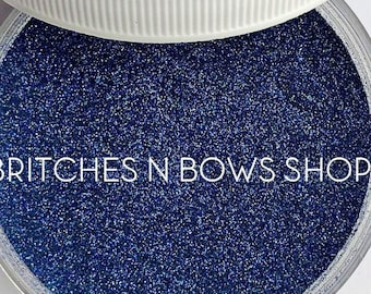 Sapphire • September Birthstone  || Polyester Glitter, 1oz by Weight • OPAQUE • || .004 cut