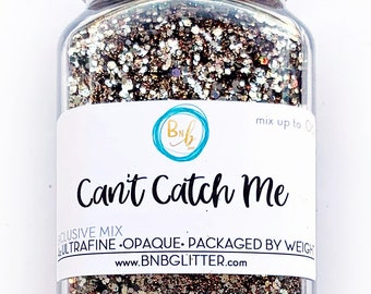 Can't Catch Me BULK || Exclusive Premium Polyester Glitter, 4oz by Weight • OPAQUE • || up to .062 cut