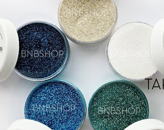 Take Me to the Beach Glitter Bundle || Premium Polyester Glitter, 1oz by Weight each, 5oz total