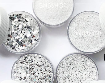 Diamond Bundle || Premium Polyester Glitter, 5 Colors Total