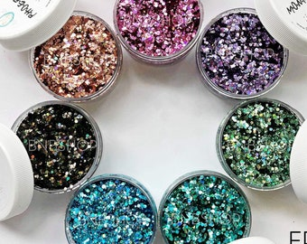 FRIENDS Bundle || Exclusive Premium Polyester Glitter, 7 Colors Total || up to .062 cut