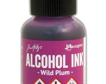 Wild Plum Alcohol Ink 0.5 fl oz    Tim Holtz, Ranger