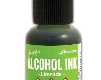 Limeade Alcohol Ink 0.5 fl oz    Tim Holtz, Ranger