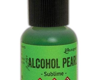 Sublime Pearl Alcohol Ink 0.5 fl oz    Tim Holtz, Ranger