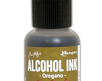 Oregano Alcohol Ink 0.5 fl oz    Tim Holtz, Ranger