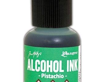 Pistachio Alcohol Ink 0.5 fl oz    Tim Holtz, Ranger