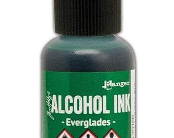 Everglades Alcohol Ink 0.5 fl oz    Tim Holtz, Ranger