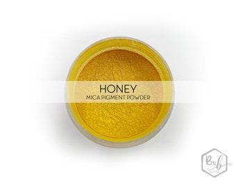 Honey Premium Pigment Powder || Cosmetic Mica Pigment for Crafts || ~10g