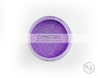 Concord Pigment Powder    Cosmetic Mica Pigment for Crafts    ~10g