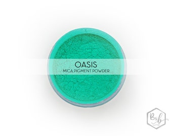 Oasis Pigment Powder    Cosmetic Mica Pigment for Crafts    ~10g