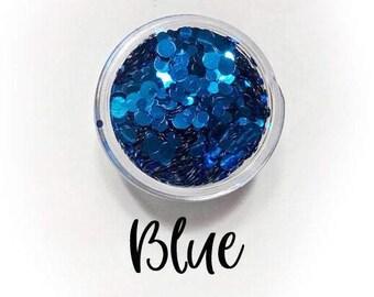 Blue Dots || Dot Mixer, Sample Jar • OPAQUE •