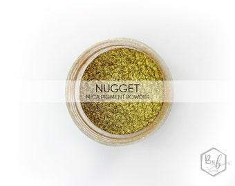 Nugget Premium Pigment Powder    Cosmetic Mica Pigment for Crafts    ~5g