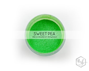 Sweet Pea Pigment Powder    Cosmetic Mica Pigment for Crafts    ~10g