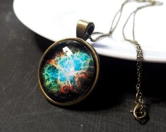 Space Galaxy Necklace Nebula Jewelry, Space pendant galaxy necklace nebula jewelry, Galaxy nebula necklace, Galaxy pendant space necklace