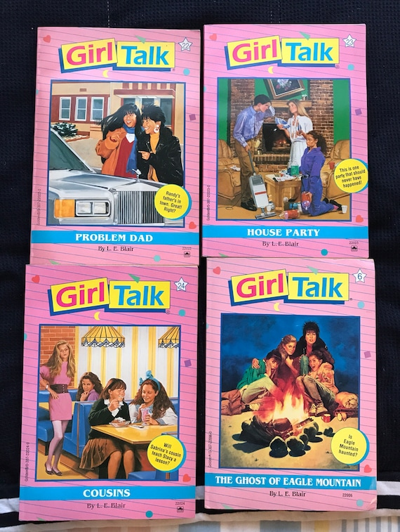 L E Blair Girl Talk Books 2 Face Off 3 The New You 4 Rebel Etsy