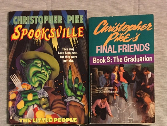 Christopher Pike 6 Spooksville Witch Last Act Bury Me Deep Etsy