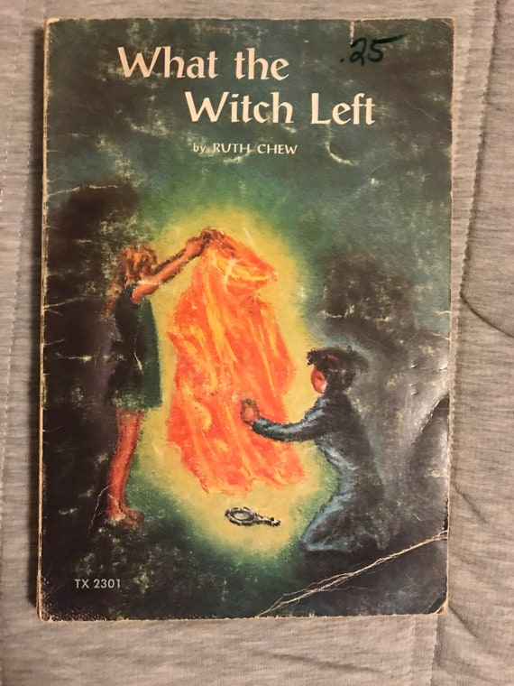 Ruth Chew What The Witch Left 1973 Etsy