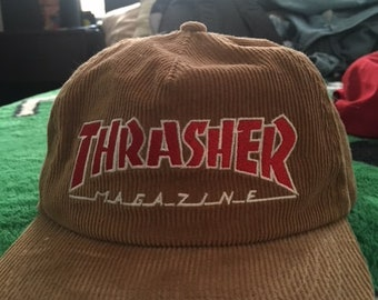 117f7aa318a THRASHER skateboarding hat!!!!! TheDogVintageShop