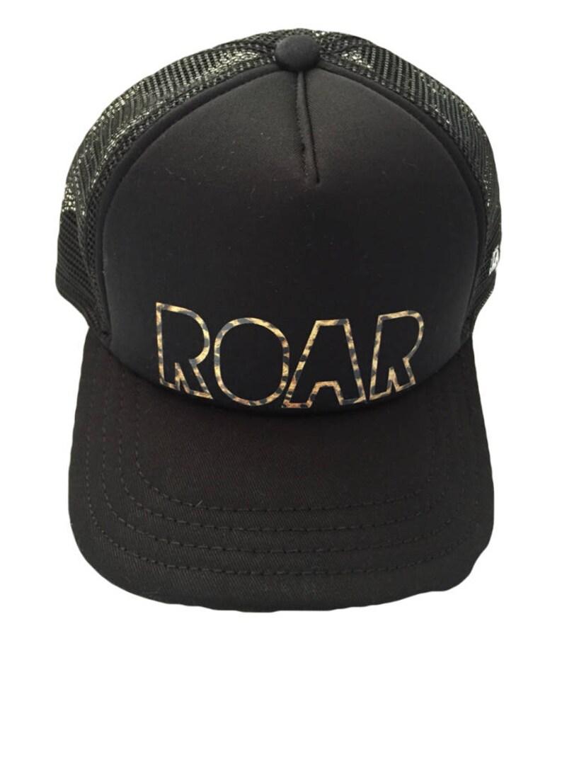 a0f2c139e1906 ROAR Baby   Kids Trucker Hat adjustable snapback Flat Brim