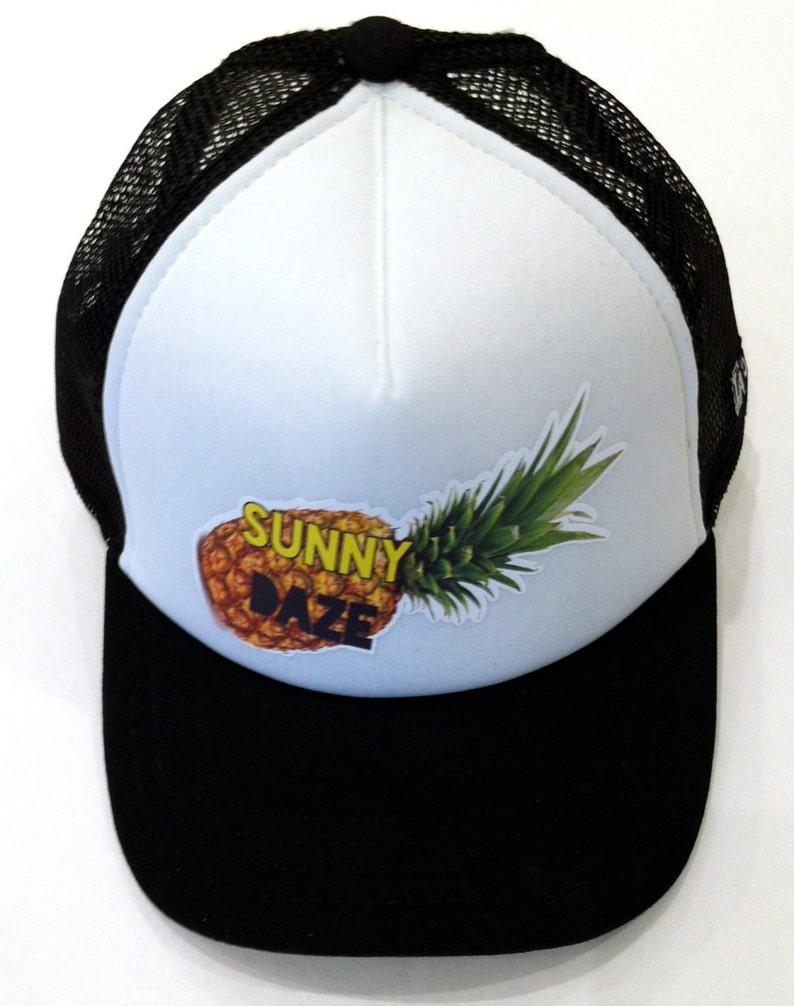 f4ef3c0997b0a Sunny Daze Baby   Kids Trucker Hat adjustable snapback Flat