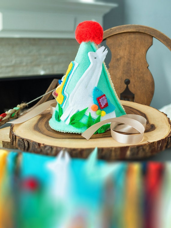 Llama First Birthday Hat Alpaca 1st
