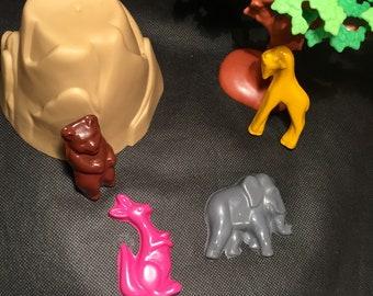 Zoo Animal Crayons