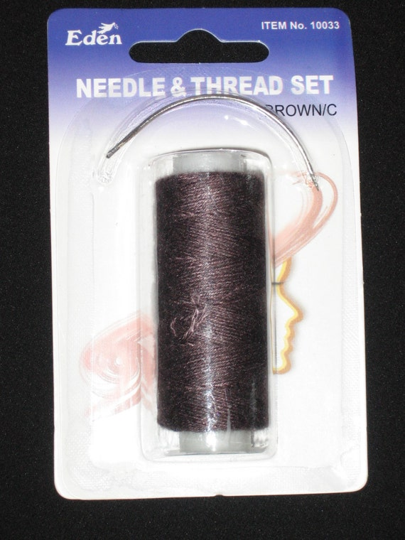Weft Weave Track Sew In Sewing Needle Tread Kit Brown C Etsy