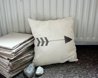 Pillow cover 'Arrow', cotton