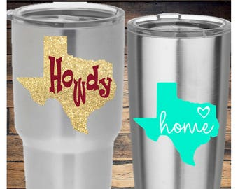 Texas Home & Howdy Decal
