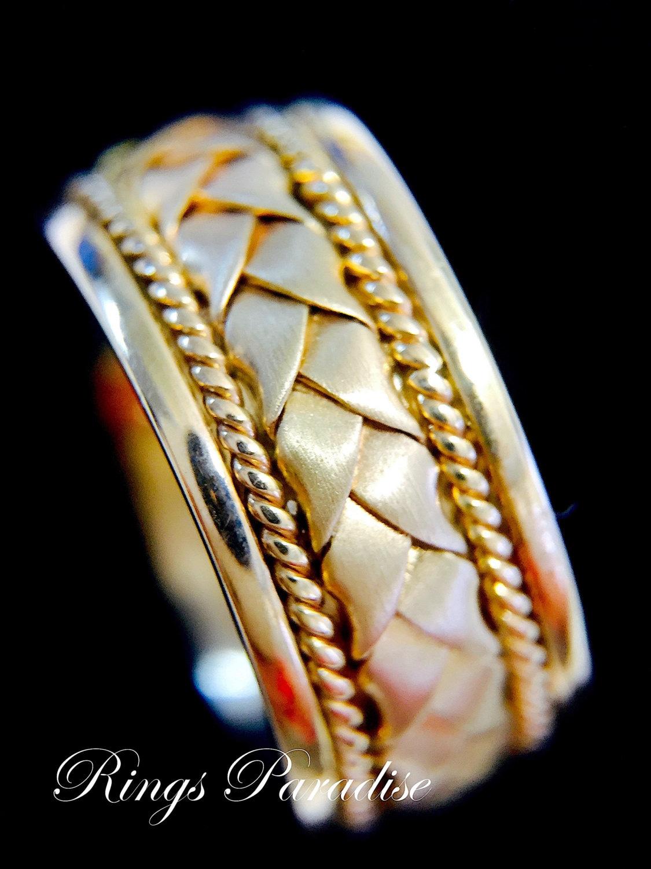 a03a004ffa8 14k Gold Claddagh Ring Men s Women Scottish Ring Unique
