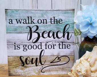 Beach cottage decor | Etsy