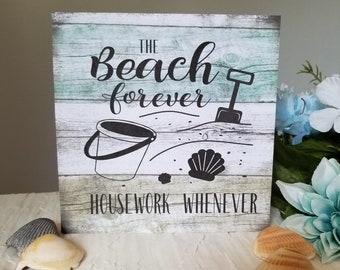 Lovely Beach Signs, Beach Decor, Beach Kitchen Decor, Beach Kitchen Sign, Beach  House