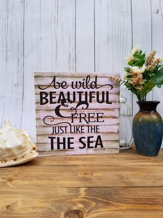 Beach signs, beach decor, beach kitchen decor, beach kitchen sign, beach  house sign, beach house decor, beach lover gift