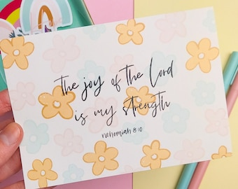 The Joy of the Lord - Postcard, Greeting Card